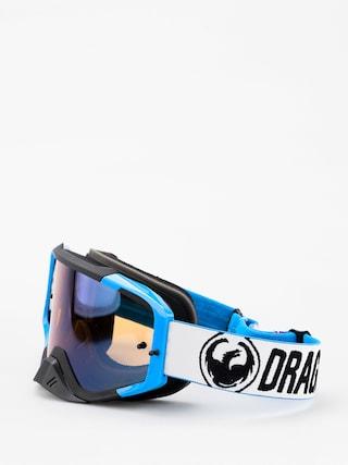 Dragon MXV MAX Cross szemu00fcveg (factory/lumalens flash blue clear)
