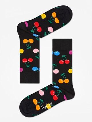 Happy Socks Cherry Zokni (black/multi)