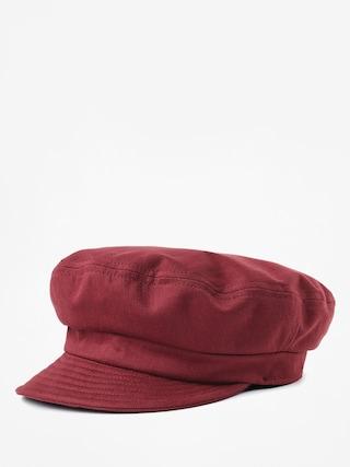 Brixton Fiddler Un ZD Flat cap (washed burgundy)