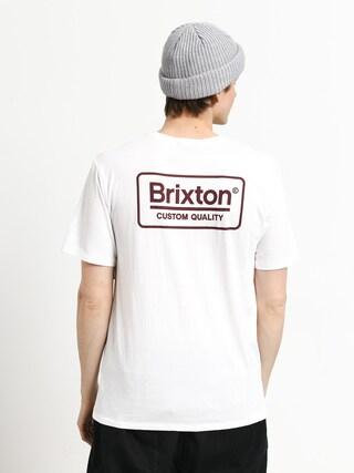 Brixton Palmer Prem Ujjatlan felsu0151 (white/burgundy)
