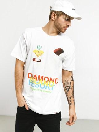 Diamond Supply Co. Diamond Resort Ujjatlan felsu0151 (white)