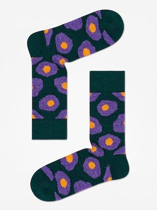 Happy Socks Wool Sunny Side Up Zokni (dark green)