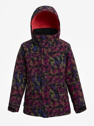 Burton Elodie Snowboard dzseki (true black morse geo)