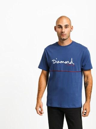 Diamond Supply Co. Hard Cut Ujjatlan felsu0151 (navy)