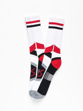 eS Es Asi Tech Zokni (white/red)