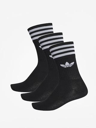 adidas Solid Crew Zokni (black/white)