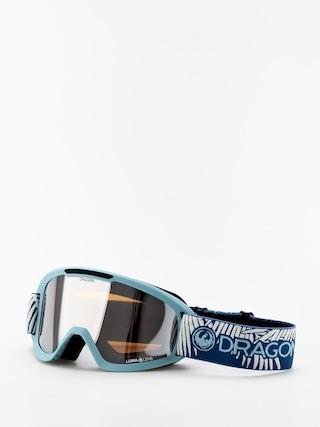 Dragon DX2 Snowboard szemu00fcveg (woven palms/lumalens silver ion/lumalens flash blue)