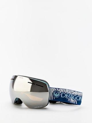 Dragon X1s Snowboard szemu00fcveg (woven palms/lumalens silver ion/lumalens flash blue)