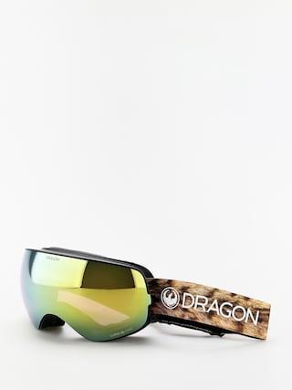 Dragon X2s Snowboard szemu00fcveg (lynxxx/lumalens gold ion/lumalens amber)