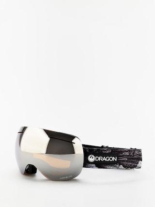 Dragon X1 Snowboard szemu00fcveg (torn birch/lumalens silver ion/lumalens flash blue)