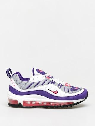 Nike Air Max 98 Wmn Cipők (white/racer pink reflect silver black)