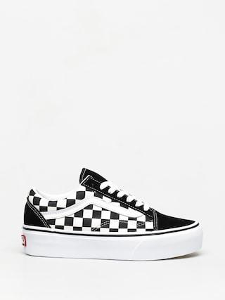 Vans Old Skool Platform Cipu0151k (checkerboard black/true white)