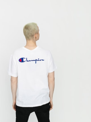 Champion Crewneck 214279 Ujjatlan felsu0151 (wht)