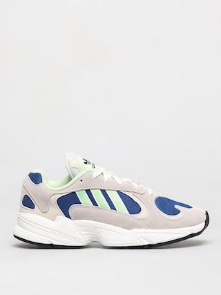 adidas Originals Yung 1 Cipu0151k (ftwr white/glow green/collegiate royal)