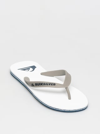 Quiksilver Molokai Flip-flop papucsok (grey/grey/white)