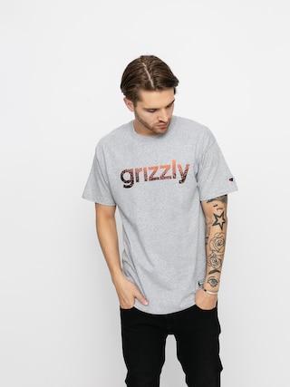 Grizzly Griptape X Champion Lowercase Fadeaway Ujjatlan felsu0151 (grey heather)