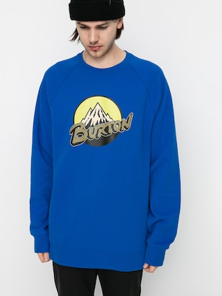 Burton Retro Mountain Pulu00f3ver (lapis blue)