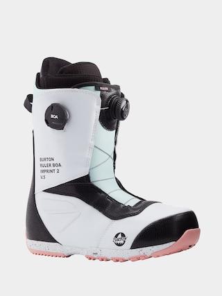 Burton Ruler Boa Snowboard cipu0151k (white/black/multi)
