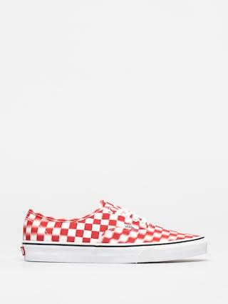 Vans Authentic Cipők (blur check/true white/red)