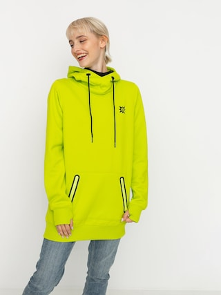 Volcom Spring Shred HD Wmn Thermo pulu00f3ver (lime)