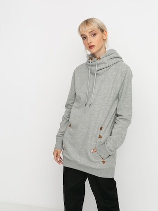 Volcom Tower HD Wmn Thermo pulu00f3ver (heather grey)