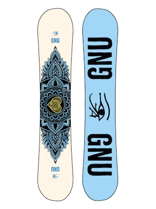 Gnu Pro Choice Wmn Snowboard (blue/black)
