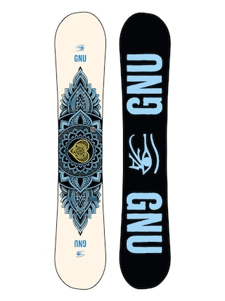 Gnu Pro Choice Wmn Snowboard (black/blue)