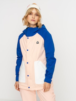 Burton Eastfall Wmn Snowboard dzseki (lapis blue/peach melba/stout white)