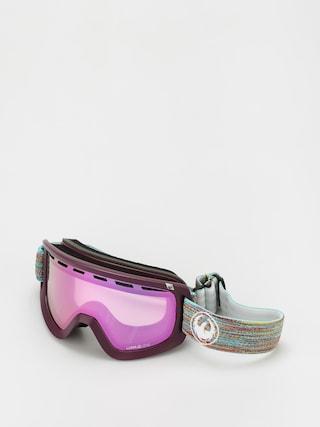 Dragon D1 Otg Snowboard szemu00fcveg (shred together/ll pink ion/ll dark smoke)