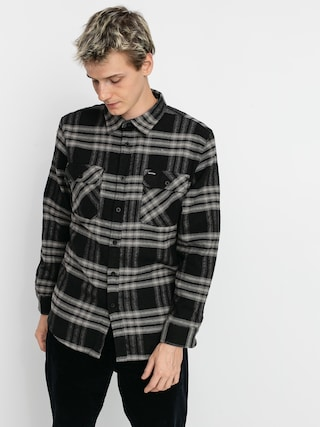 Brixton Bowery Flannel Ls Ing (black/charcoal)