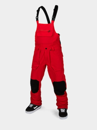 Volcom Roan Bib Overall Snowboard nadru00e1g (red)