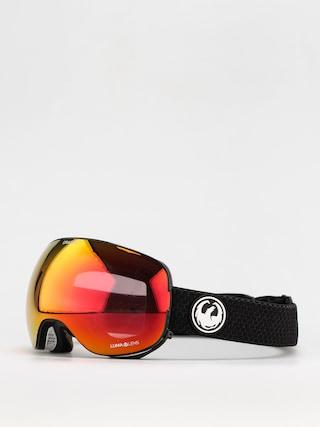 Dragon X2 Snowboard szemu00fcveg (split/ll red ion/ll light rose)