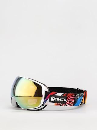 Dragon X2s Snowboard szemu00fcveg (hot duck/ll gold ion/ll yellow)