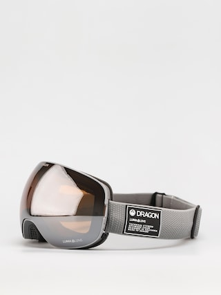 Dragon X2 Snowboard szemu00fcveg (titanium/ll silver ion/ll dark smoke)