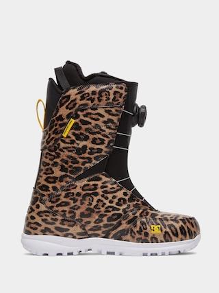 DC Search Wmn Snowboard cipu0151k (leopard print)