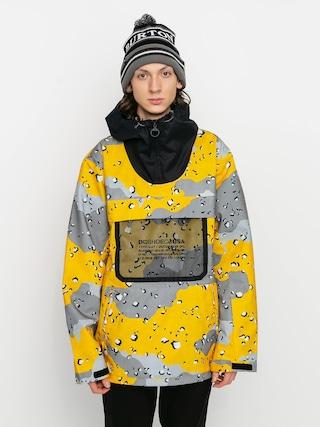 DC Asap Anorak Snowboard dzseki (chocolate chip lemon chro camo)