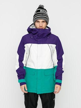 Burton Breach Insulated Snowboard dzseki (parachute purple/stout white/dynasty green)