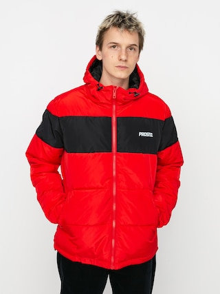 Prosto Winter Adament Dzseki (red/black)