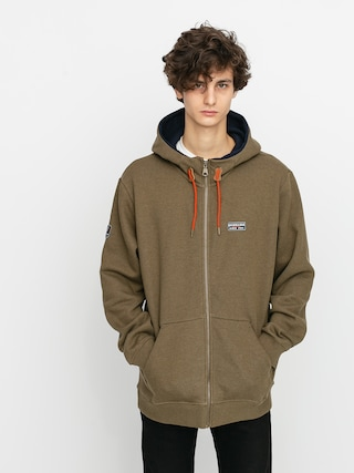 Quiksilver Big Logo Snow ZHD Thermo pulu00f3ver (military olive)