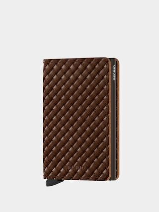 Secrid Slimwallet Pu00e9nztu00e1rca (basket brown)