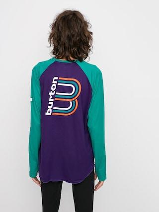 Burton Roadie Base Layer Tech Hosszu00fa ujju00fa thermo felsu0151 (parachute purple/dynasty green)