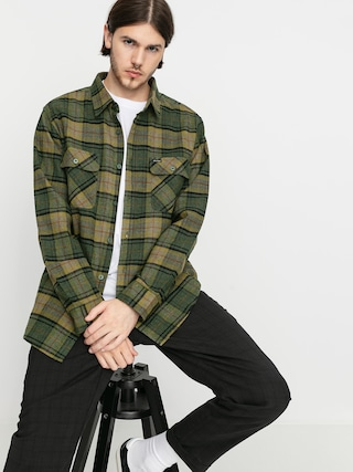 Brixton Bowery Flannel Ls Ing (evergreen)
