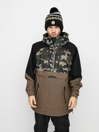 Volcom Brighton Pullover Snowboard dzseki (army)