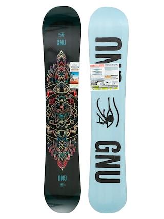 Gnu Ladies Choice Wmn Snowboard (blue/black)