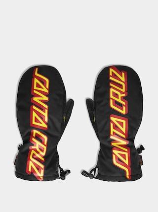 ThirtyTwo Santa Cruz Mitt Kesztyu0171 (black/yellow)