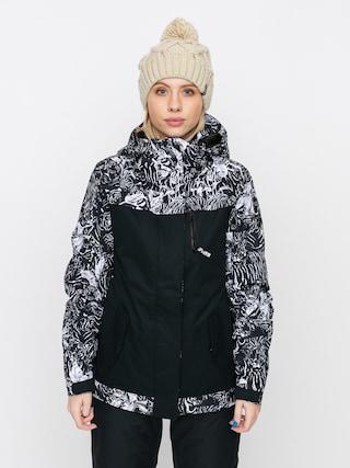 Roxy Jetty Block Wmn Snowboard dzseki (true black tiger camo)