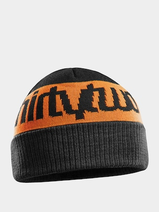 ThirtyTwo Double Beanie Sapka (black/orange)