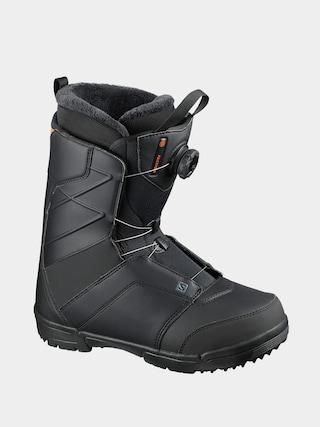 Salomon Faction Boa Snowboard cipu0151k (black/black/red orange)
