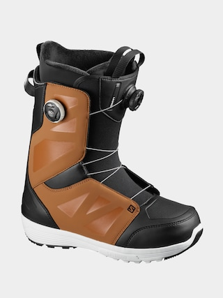 Salomon Launch Boa Sj Boa Snowboard cipu0151k (rawhide/black/wh)