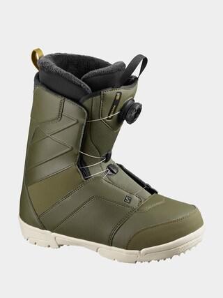 Salomon Faction Boa Snowboard cipu0151k (olive nigh/olive nigh/r)